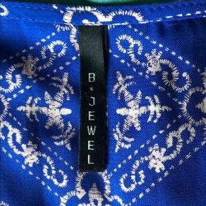 B Jewel Tops - Sweet boho style top